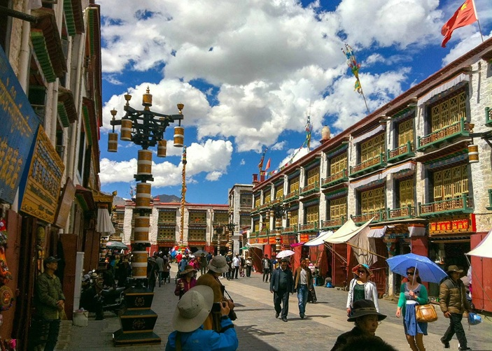 Barkhor Street  Lhasa