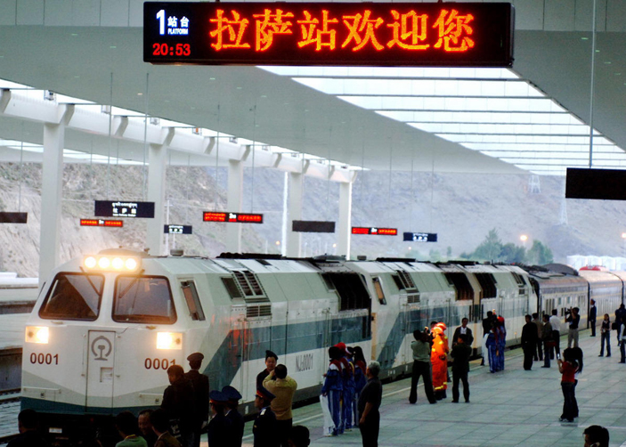 Qinghai Tibet Railway Station List