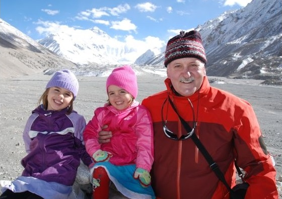 Travel to Tibet with kids