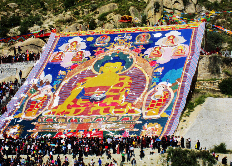6 Days Tibet Shoton Festival Tour