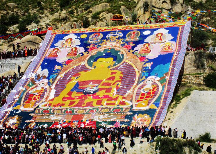 6 Days Tibet Shoton Festival Tour