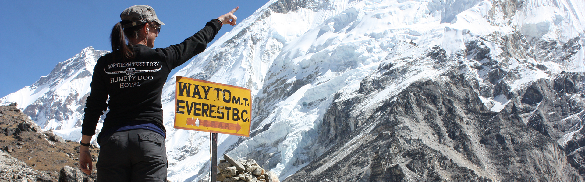 Mount Everest, how long have you been dreaming for ?