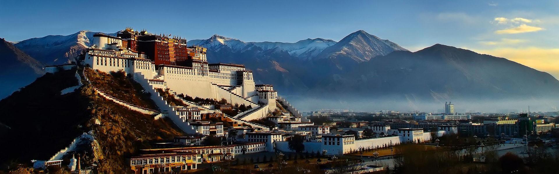 Lhasa, the capitabl of mysterious Tibet