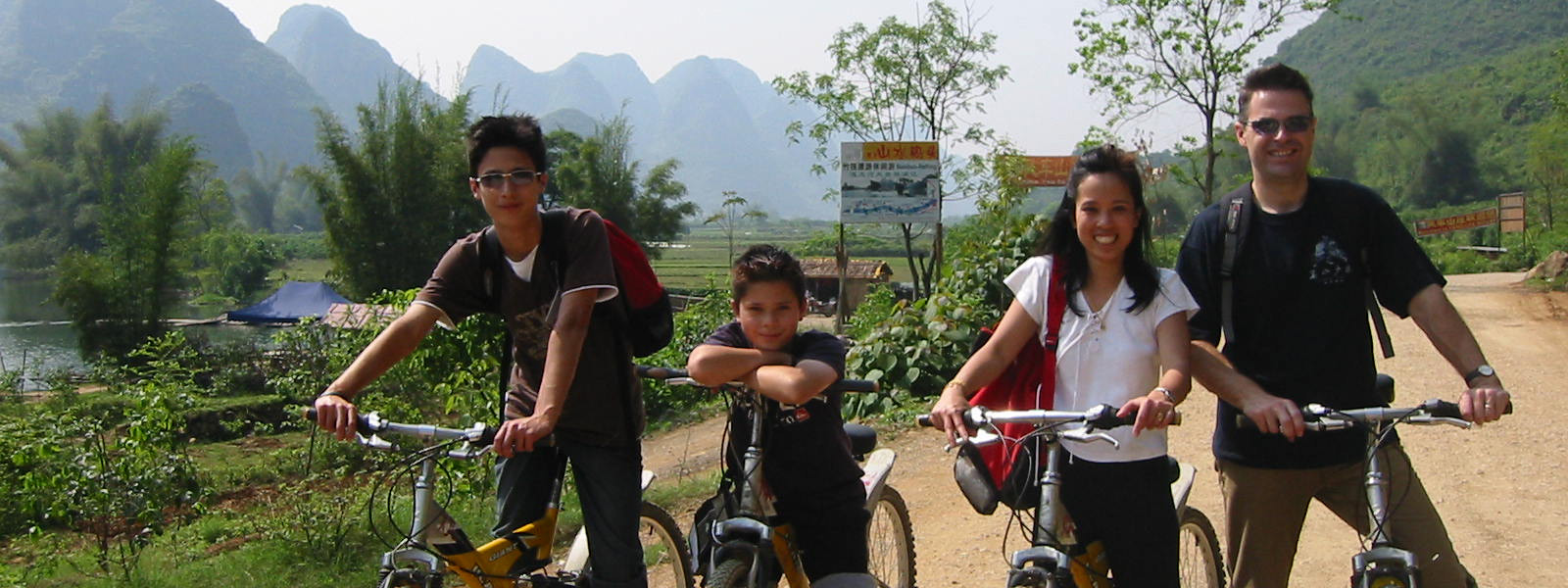 Cycling into the best scenery of China