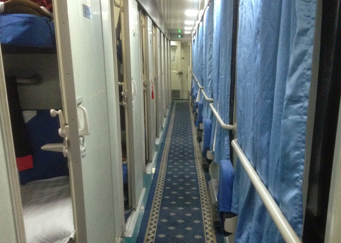 Soft Sleeper Cabin on Tibet Train