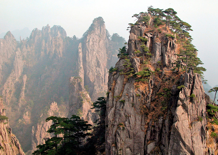huangshan mountain yellow mountain