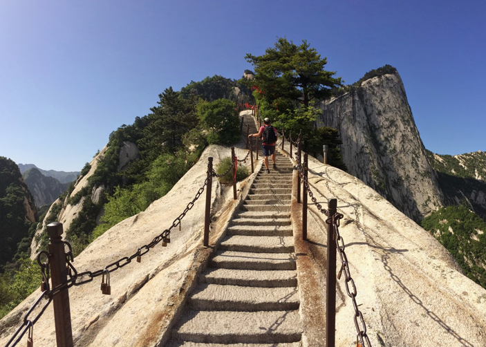 mt huashan mountain