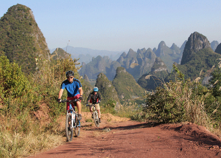 yangshuo biking cycling
