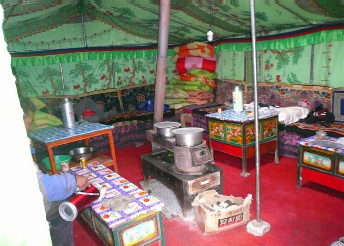 Tent Accommodation of Everest Rongbuk Monastery