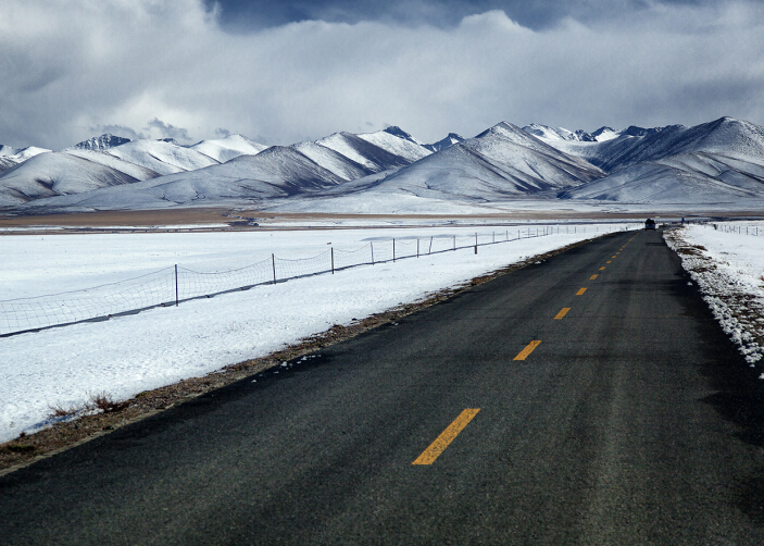 way to namtso lake